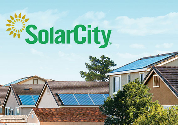 solarcity panel installation